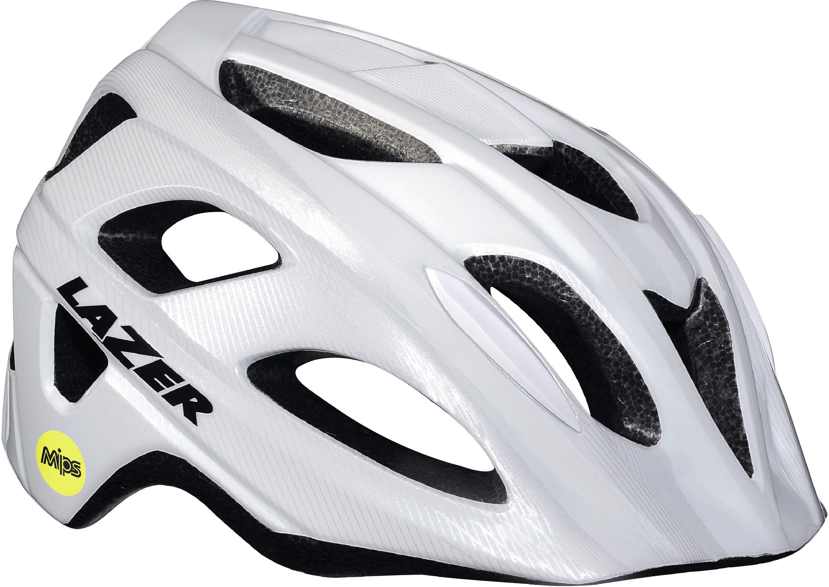 Lazer Beam casco per bici MIPS bianco su Bikester 1309fa11298b2